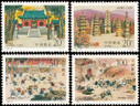 China Stamps - 1995-14 , Scott 2589-92 The 1500th Anniversary of the Shaolin Temple, MNH, F-VF - (92589)