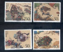 China Stamps - 1997-21 , Scott 2822-26 The Outlaws of the Marsh- A Literary Masterpiece of Ancient China (5th series) - MNH, F-VF - (92822)