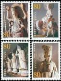 China Stamps - 2002-13, Scott 3209-12 Dazu Stone Carvings   - MNH, F-VF - (93209)
