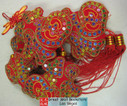 "Chinese New Year Decorative Good Luck Hanging - size 26"" Long (measured from top to bottom excluding tassels) (WX92)"