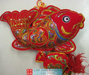 "Chinese New Year Decorative Good Luck Hanging - size 19"" Long (measured from top to bottom excluding tassels) (WX95)"