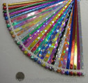 Origami Stars Papers Package 0U (6 packs total approx. 300 pieces)(WX0M)