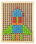 Flying Chess & Jigsaw Puzzle Blocks - Wood(WXJJ)