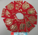 "Chinese Red Envelope for New Year (with gold embossing envelope size: 3.25"" x 4.5"" ) total 10 red envelopes in 8 different designs(WX6J)"