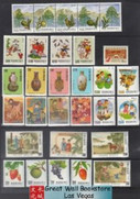 Taiwan Stamps : 1990 - 1994, collection package with 23 complete sets + 4 S/Ss + 1 Booklet of Taiwan stamps (a total of 99 stamps including those from S/S and Booklet) See all 5 images - MNH-F-VF  - (9T01D)