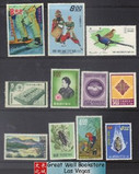 Taiwan Stamps : Small Collection, All MH, F-VF - (9T066) - (9T066)