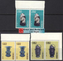 Taiwan Stamps : 1961 Taiwan stamps TW S19 Scott 1290, 1292, 1295 Ancient Chinese Art Treasures Series I - Pair -  MNH, F-VF - (9T0FE) - (9T0FE)