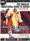 Routine II of Shaolin Special Quan - The Shaolin Traditional Kung Fu Series - (WM85)