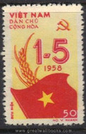Vietnam Stamps - 1958, Sc 69, May 1st - MNH, F-VF - (9N06H)