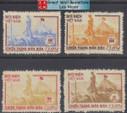 Vietnam Stamps - 1954-6 , Sc 17-9 + O5, Victory at Dien Bien Phu - MNH, F-VF - (9N08Q)