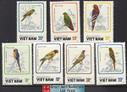 Vietnam Stamps - 1988, Sc 1857-63, Parrots, MNH, F-VF - (9N0A3)
