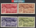 South Vietnam Stamps - 1964, Scott 227-30, Danhim Hydroelectric Set, MNH, F-VF - (9V048)