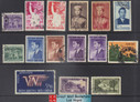 South Vietnam Stamps - 1952-61, 15 different stamps - Used (9V05E)