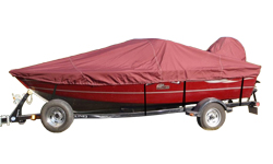 V-Hull fishing boat covers