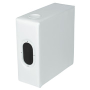 Wise Deluxe Pontoon Arm Rest (Square Profile) in White