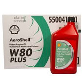 AeroShell Oil W80 Plus / C12*946ml - OIL EXPIRES 22/09/18