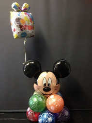 A2  Birthday Cluster - Mickey Mouse