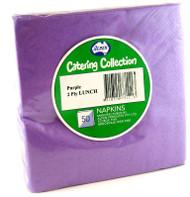 Purple Luncheon Napkins - Pkt 50