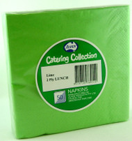 Lime Luncheon Napkins - Pkt 50