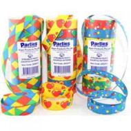 Party Streamers - Pkt 9 Assorted