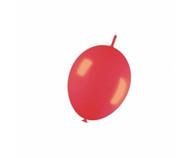 30cm Link-O-Loon - Metallic Red