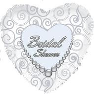 Bridal Shower - 43cm Flat Foil