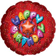 "9"" CTI Foil - HB ""Balloon Type Red"""