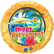 "Retirement ""Sunshine"" - 45cm Flat Foil"