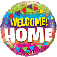 """Welcome Home """"Pennants"""" - 45cm Flat Foil"""
