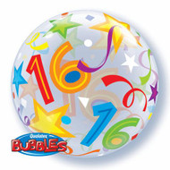 """#16 """"Brilliant Stars"""" - Inflated 22"""" Bubble"""