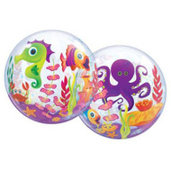 """Sea Creatures - Inflated 22"""" Bubble"""