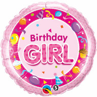 Birthday Girl - 45cm Inflated Foil