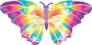 "110cm Foil Shape - ""Luminous Butterfly"""