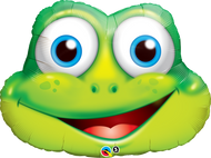 Funny Frog - Inflated Shape