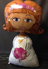 """Wedding """"Bride"""" - Inflated Airwalker"""