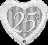 """18"""" Foil - 25th Anniversary"""