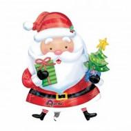 """Xmas """"Santa & Tree"""" - Inflated Shape"""