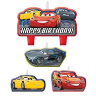 "Candles - Birthday ""Disney Cars"""