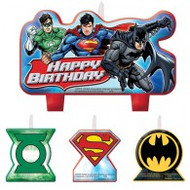"""Candles - Birthday """"Justice League"""""""