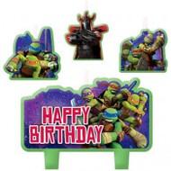 "Candles - Birthday ""Ninja Turtles"""