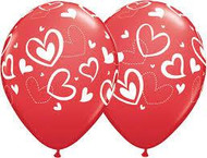 "28cm ""Love Heart"" Print"