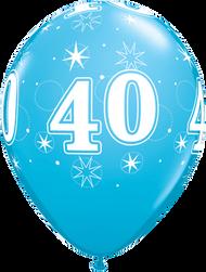28cm #40 - Robbins Egg Blue