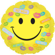 GWS Smiley Kisses - 43cm Inflated Foil