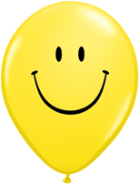 "28cm ""Smiley Face"" Prints - Pack of 50"