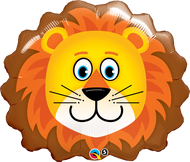 "Animal ""Lovable Lion"" - 29"" Flat Shape"