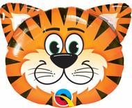 """Animal """"Tickled Tiger"""" - 32"""" Flat Shape"""