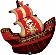 "Pirate Ship - 40"" Flat Shape"