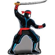 Ninja Warrior - Flat Shape