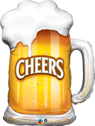 "Cheers ""Beer Mug"" - 35"" Flat Shape"