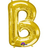 86cm Flat Alphaloon - Gold B